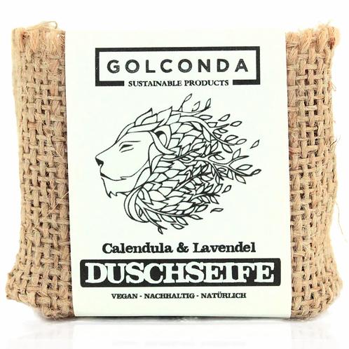 GOLCONDA Duschseife Calendula und Lavendel