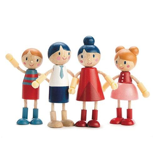 Familie für Puppenhaus von Tender Leaf Toys
