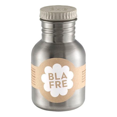 BLAFRE Edelstahl-Trinkflasche 0,3l in grau