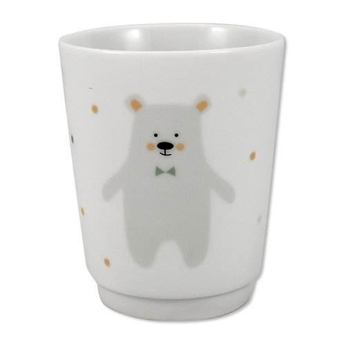 Porzellanbecher Eisbär
