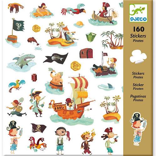 Piraten Sticker von DJECO