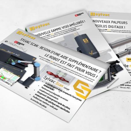 Nouveaux flyers Sylvac disponibles