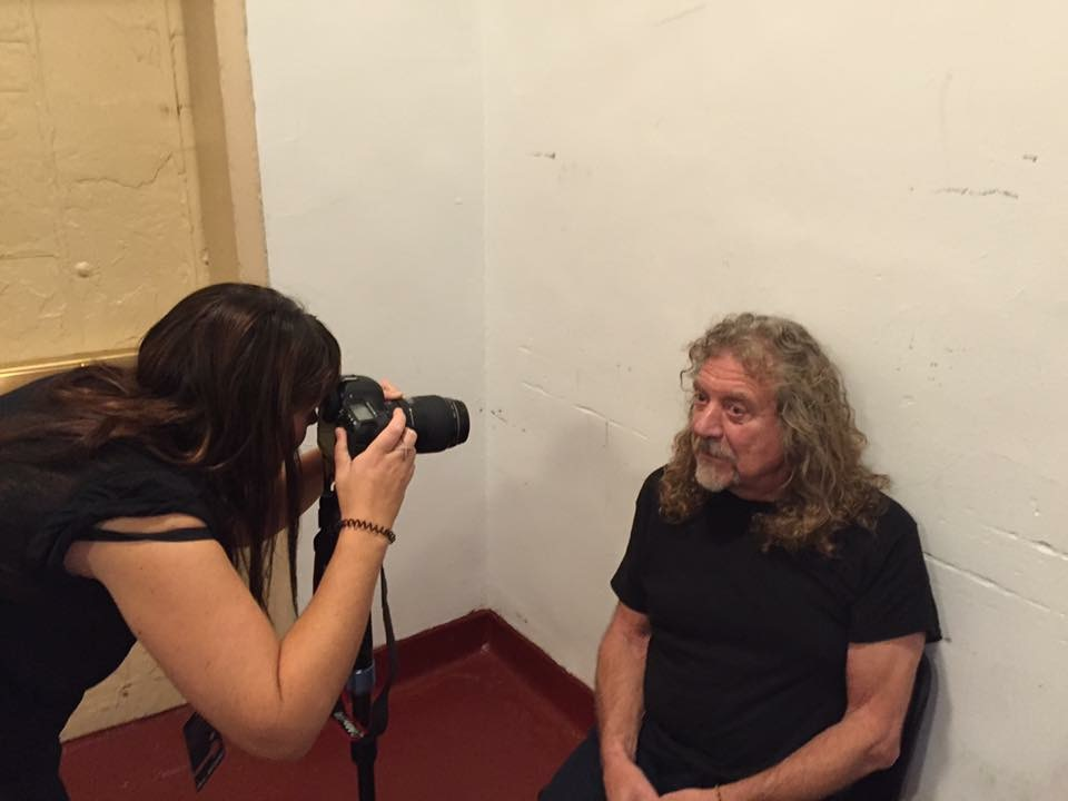 Shooting Robert Plant