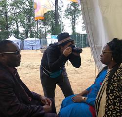 Shooting Amadou and Mariam