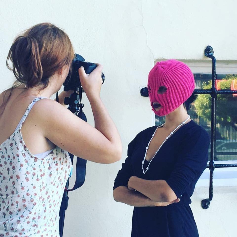 Shooting Nadya Pussy Riot