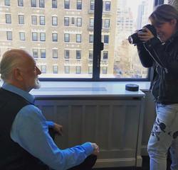 Shooting Mick Fleetwood