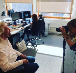 Shooting Richard Branson