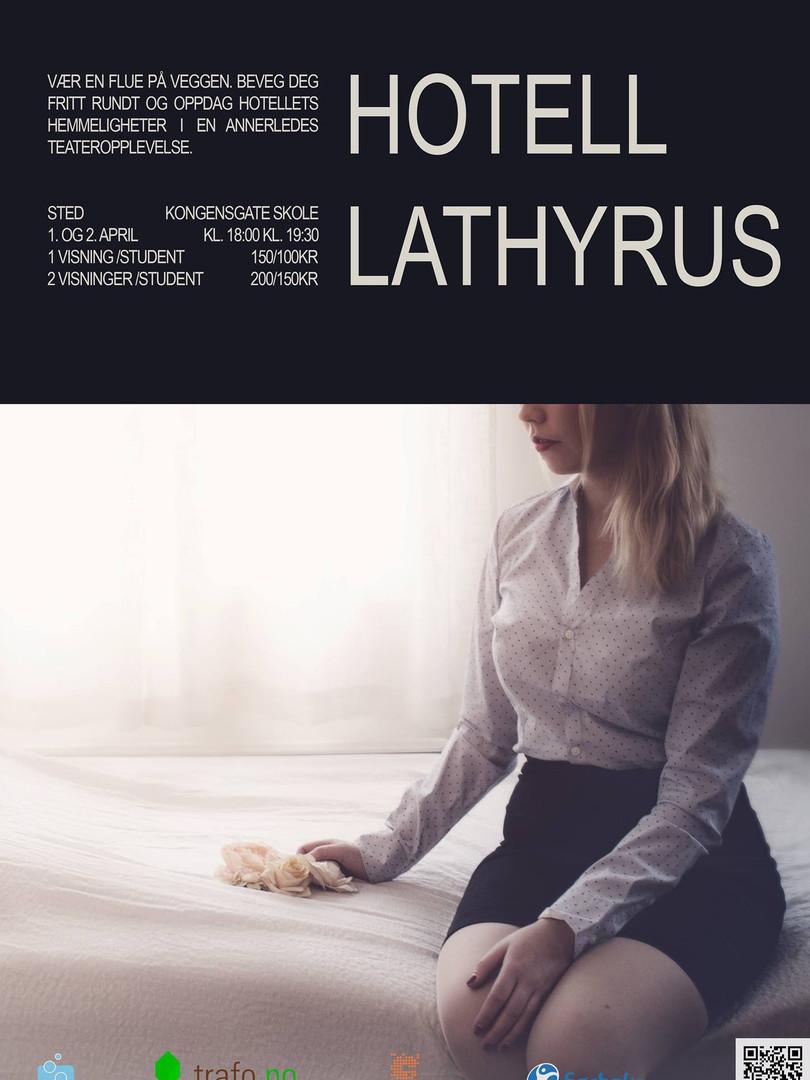 Hotell  LathyrusPlakat THEISkollektiv