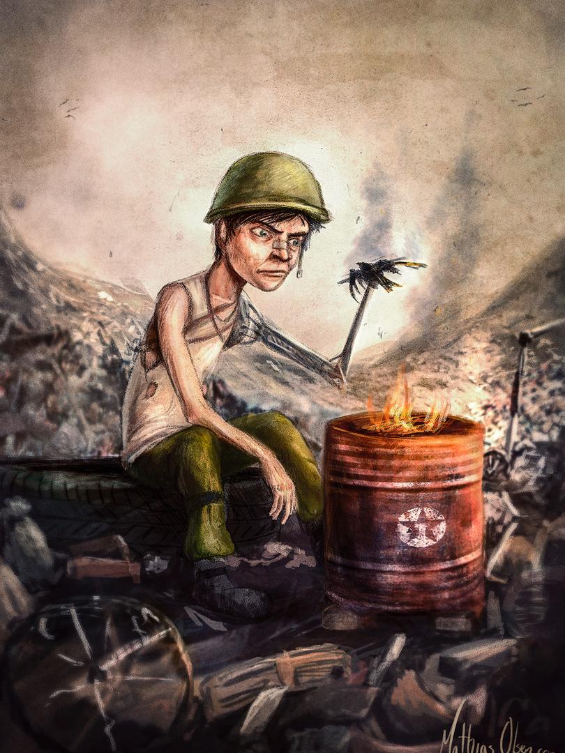 Apokalypse Illustrasjon