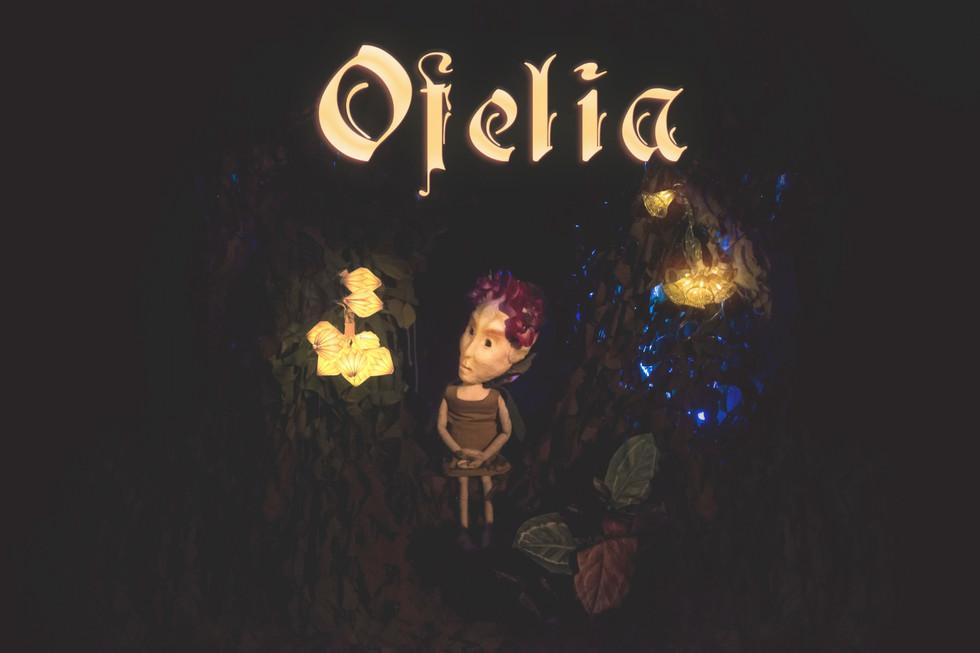 Plakat Ofelia Dukketeater