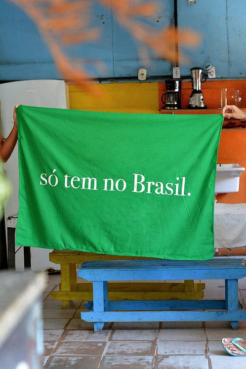 Canga Só tem no Brasil - Pipoca Press + RETROPY