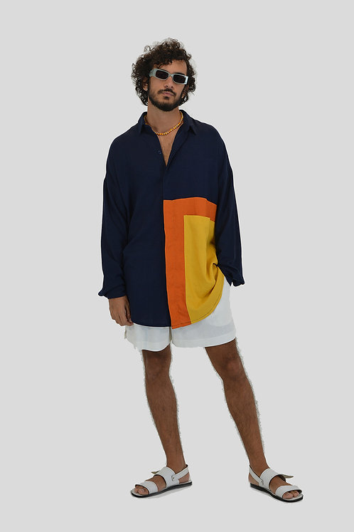 Camisa Goa Marinho