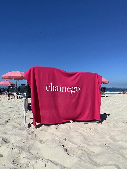 Canga/bandeira CHAMEGO   RETROPY + Pipoca Press