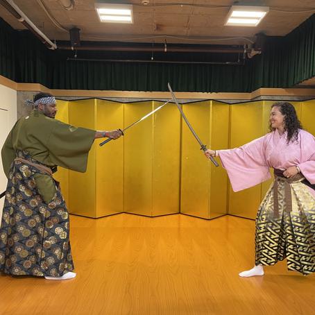 Park Hyatt Kyoto- Adam's Birthday Weekend -Kenbu Samurai Theater Experience