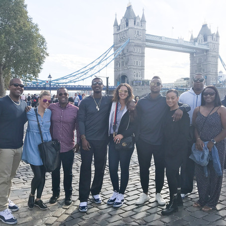 Group Travel Goals- London-High Tea, Tower of London, Churchill War room