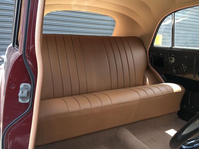 Holden FX rear seat