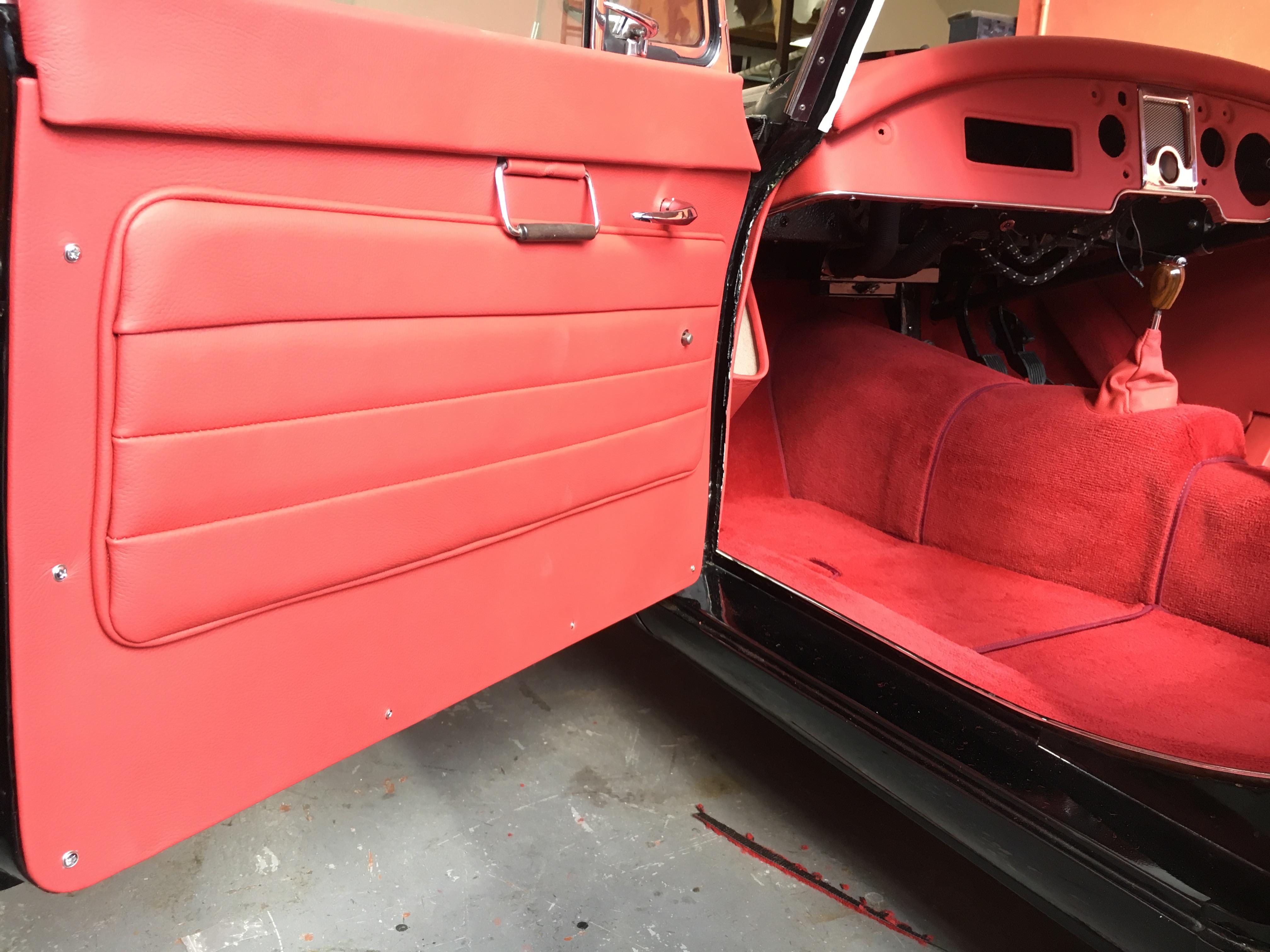MG A door trim