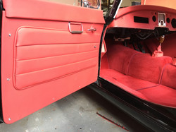 MG A door trim