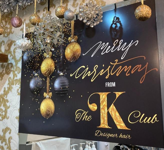 The K club Christmas