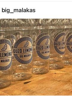 Ouzo Lemonade Stickers