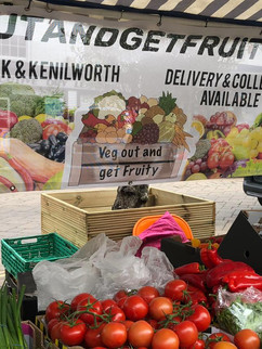 Veg out and get fruity banner