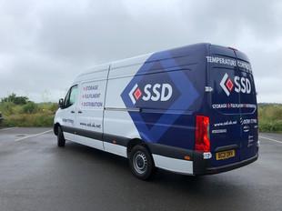 SSD van wrap