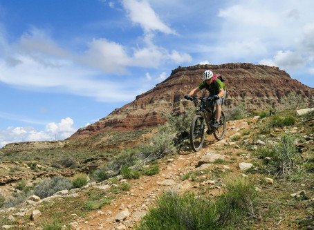 Hurricane Rim Trail, UT