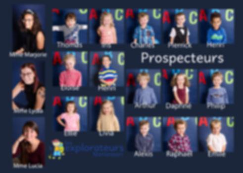 mozaique groupe Montessori- Prospecteurs