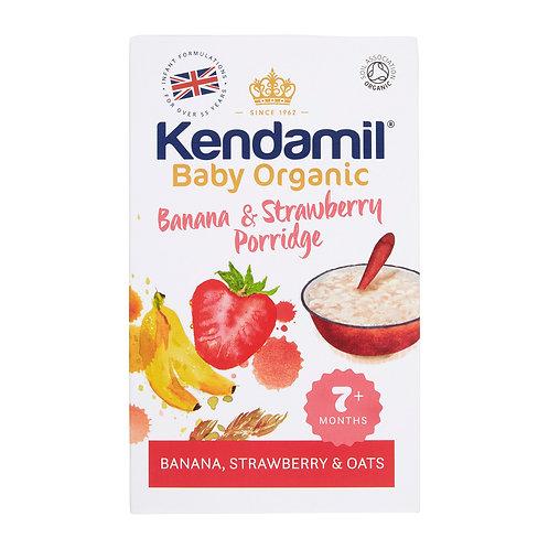 Kendamil Baby Organic Banana & Strawberry Porridge