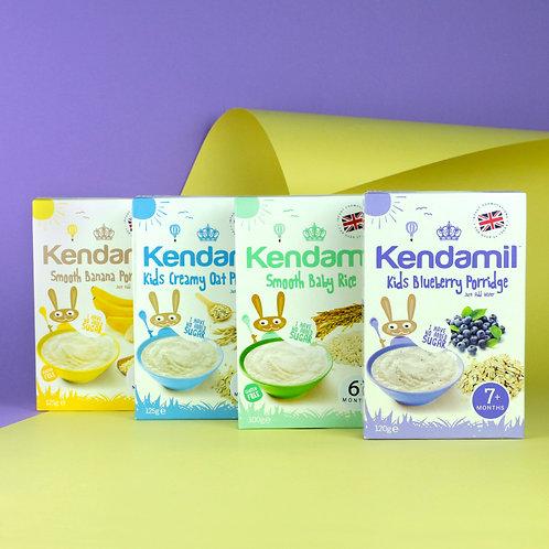 Bundle of 4: Kendamil Baby Porridge
