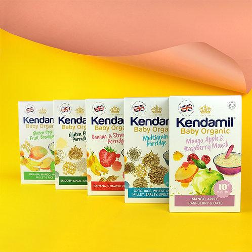 Bundle of 5: Kendamil Baby Organic Porridge
