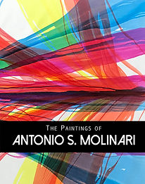The Paintings of Antonio S. Molinari, coffee table book, poured paint, Art Leaders Gallery