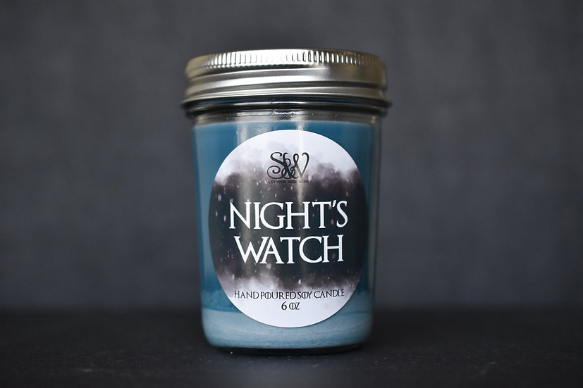 Night's Watch 6oz Candle