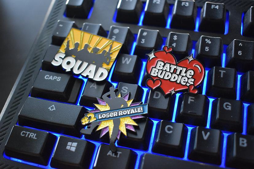 Battle Royale Enamel Pin Collection