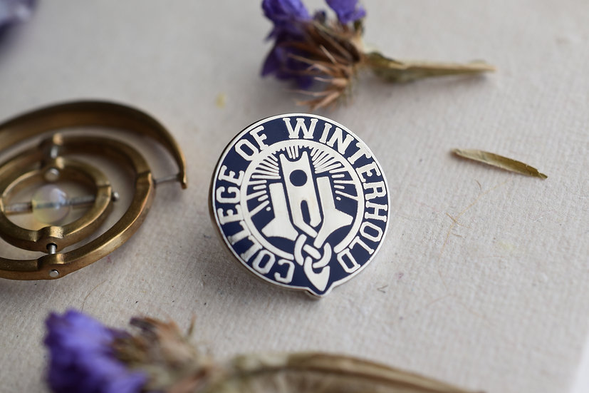 College of Winterhold Enamel Pin