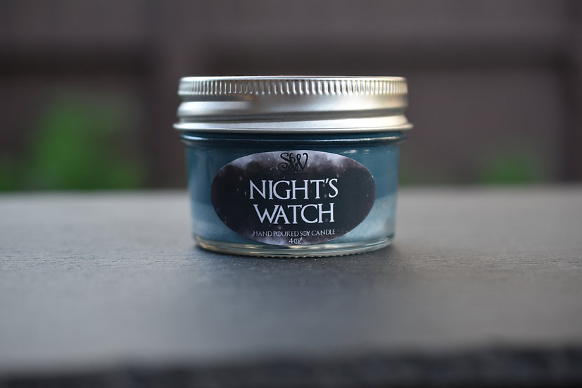 Night's Watch 4oz Candle