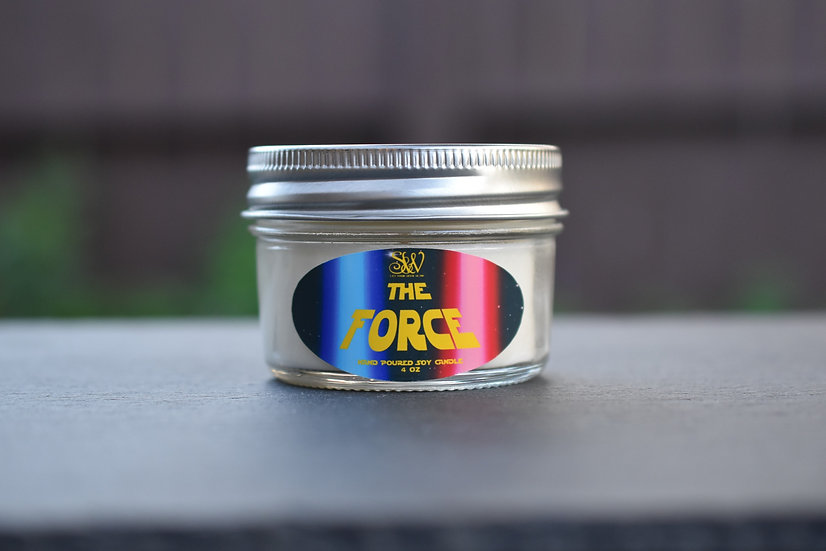 The Force 4oz Candle
