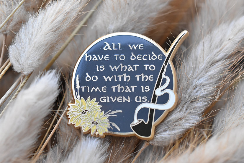 The Wise Enamel Pin