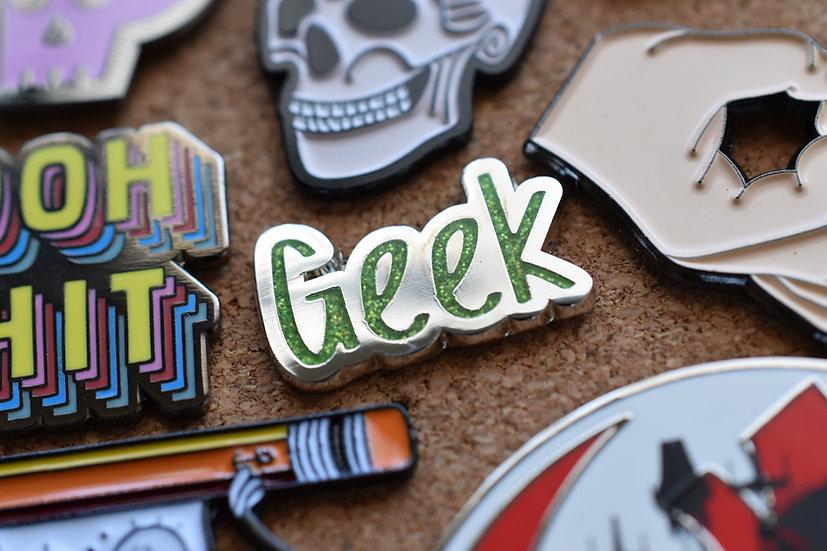 Mini Geek Enamel Pin