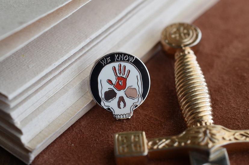 Dark Brotherhood Enamel Pin