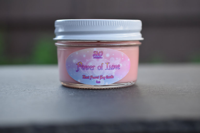 Power of Love 4oz Candle