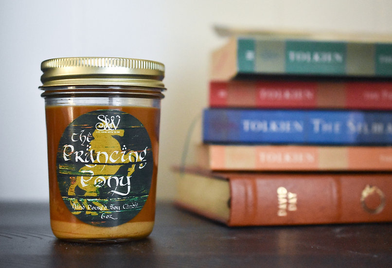 The Prancing Pony 6oz Candle