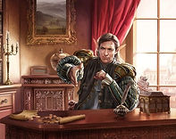 Ardryll Elathyra, (Elf) Elven Ambassador