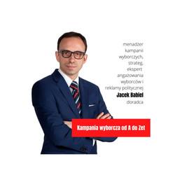Jacek Babiel, doradca wyborczy, strategie wyborcze, konsultant wyborczy