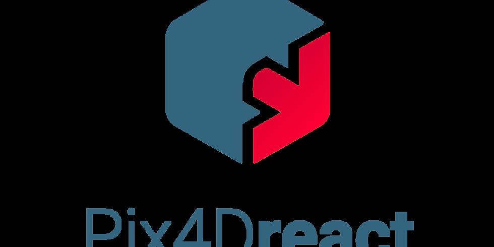 Pix4Dreact オンラインセミナー