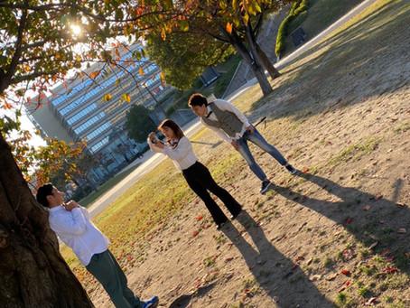 11月13日北九州小倉の勝山公園にてメンバーの写真撮影を行ないました!