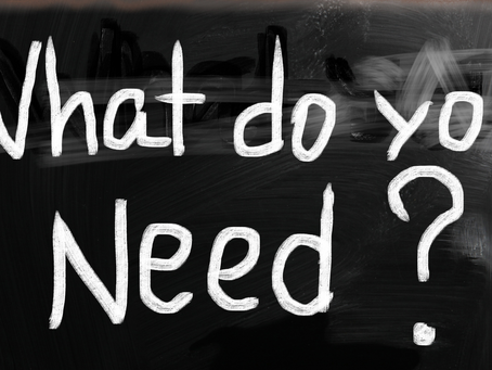 """On Dealing With Grief, Part 2 -- The Power of Asking """"What Do You Need?"""""""