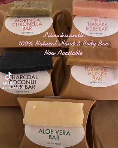 100% Natural Hand & Body Bar
