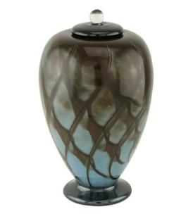 Concerto Hand Blown Glass Cremation
