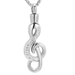 Crystal Music Note